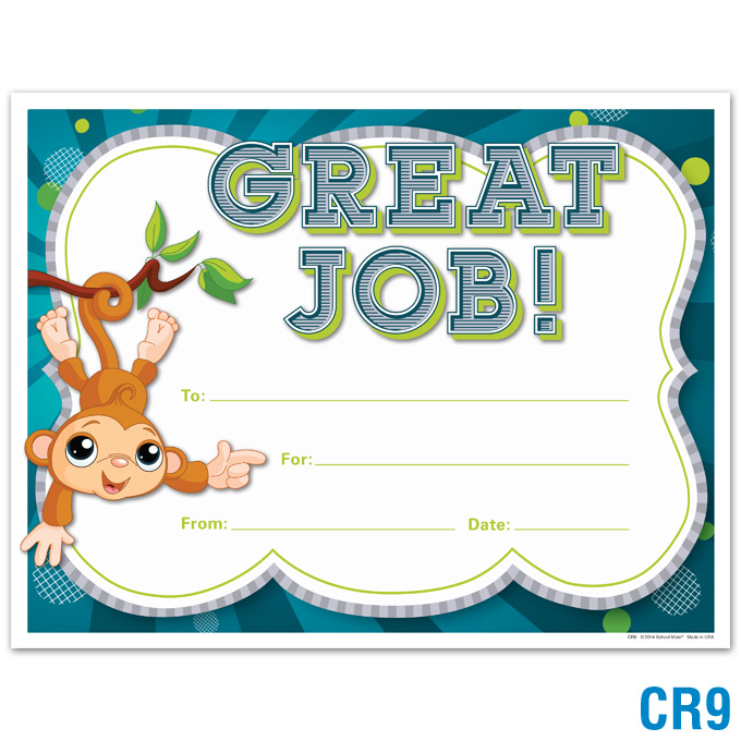 product details great job award certificates awards