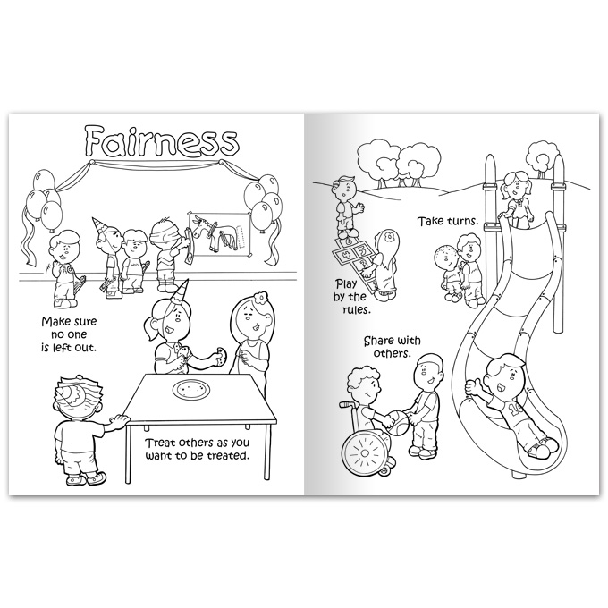 citizenship coloring pages - photo#14