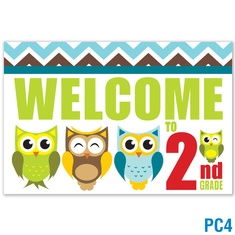 Welcome to 2nd Grade Postcard: click to enlarge