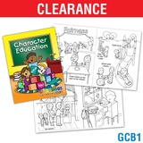 Character Ed. Coloring Book