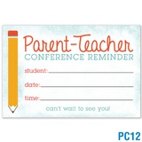 Parent-Teacher Conference Reminder Postcard