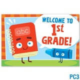 Welcome to 1st Grade Postcard