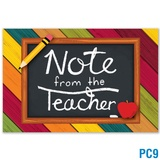 Note From the Teacher Postcard